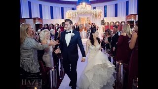 Miami Wedding filmed at Aventura Turnberry Jewish Center