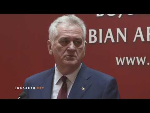 Predsednik Nikolić na pitanja novinara Insajder.net-a o krizi zbog voza