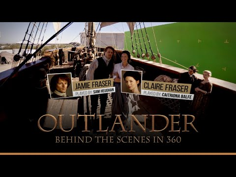 Outlander | Behind the Scenes in 360 | STARZ