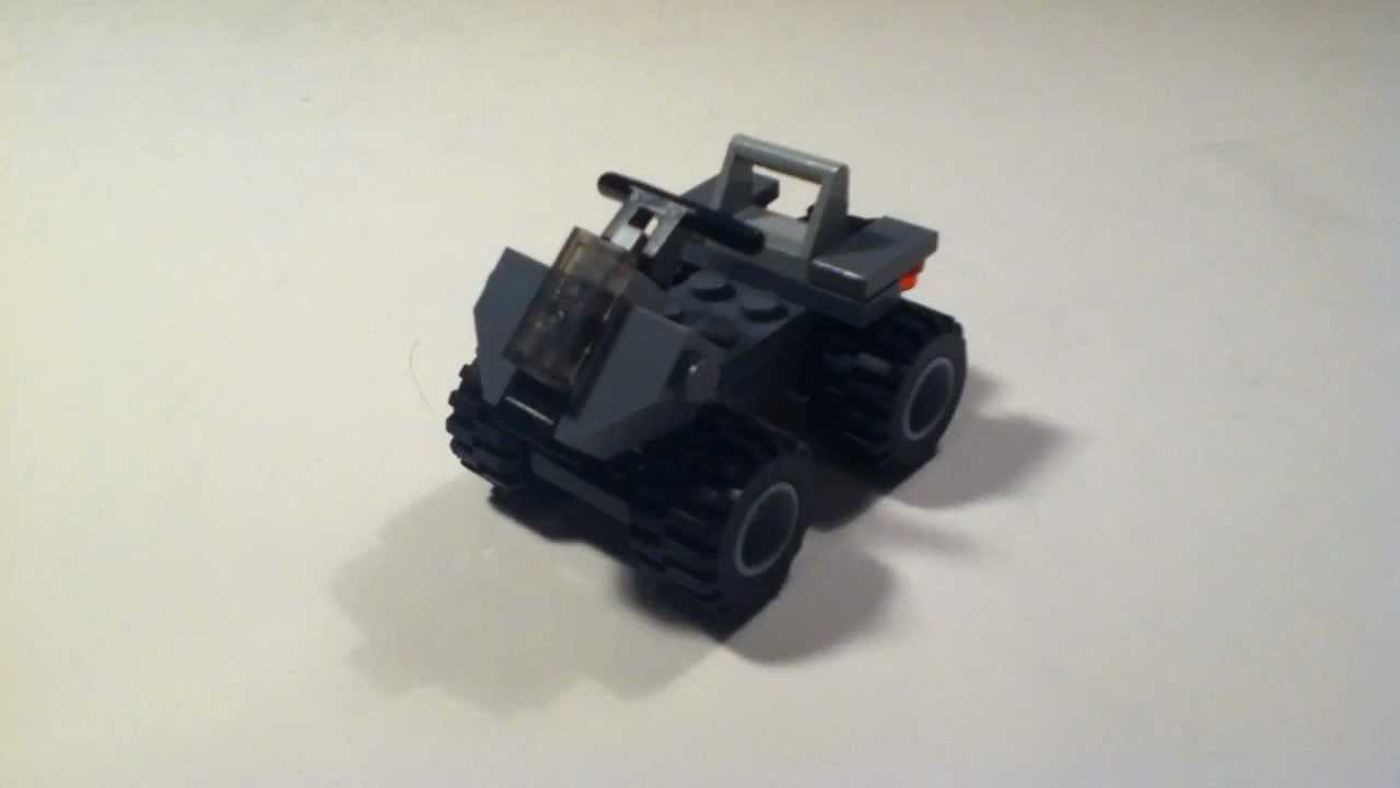 How To Build A Lego Halo Mongoose