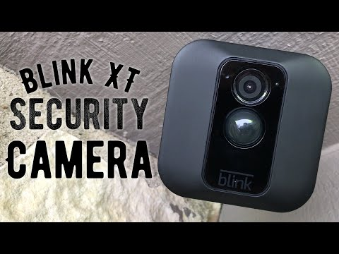 Blink XT Weatherproof Outdoor Cordless Home Security Camera Review