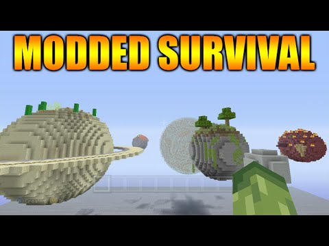 Minecraft Xbox 360  PS3 NEW Modded Survival Solar System