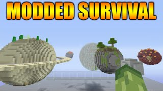 ★Minecraft Xbox 360 + PS3: NEW! Modded Survival Solar System Custom Map + Download★
