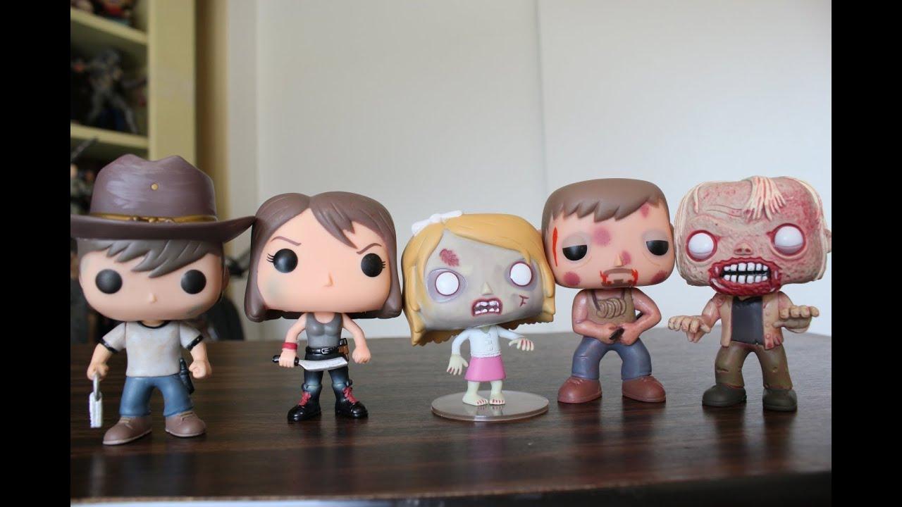 Funko Pop The Walking Dead Series 4 Review Carl Maggie