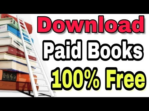 How to download any paid book for free-Amazon books,Google Books.