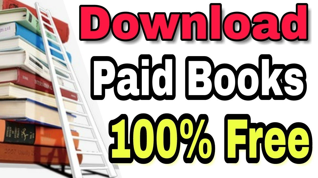 How to download any paid book for free-Amazon books,Google Books