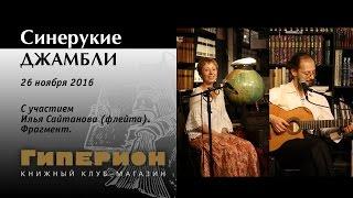 """""""Синерукие джамбли"""" (отрывок). """"Гиперион"""", 26.11.16"""