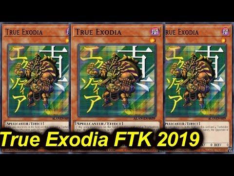 【YGOPRO】TRUE EXODIA FTK DECK 2019