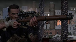 Sniper Elite 3 Authentic Difficulty Gameplay - Stealth Kills & Assassinating Hitler
