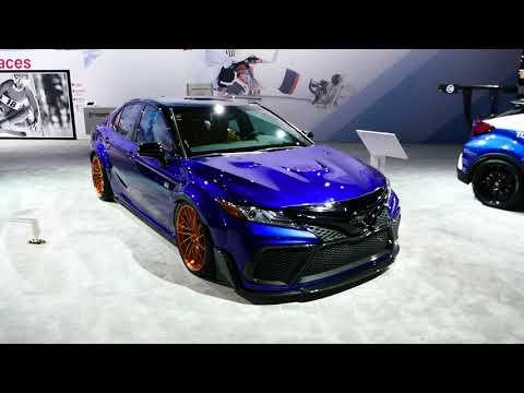 New 2018 Custom Toyota Camry XSE Sedan - Exterior Tour - 2017 LA Auto Show, Los Angeles CA