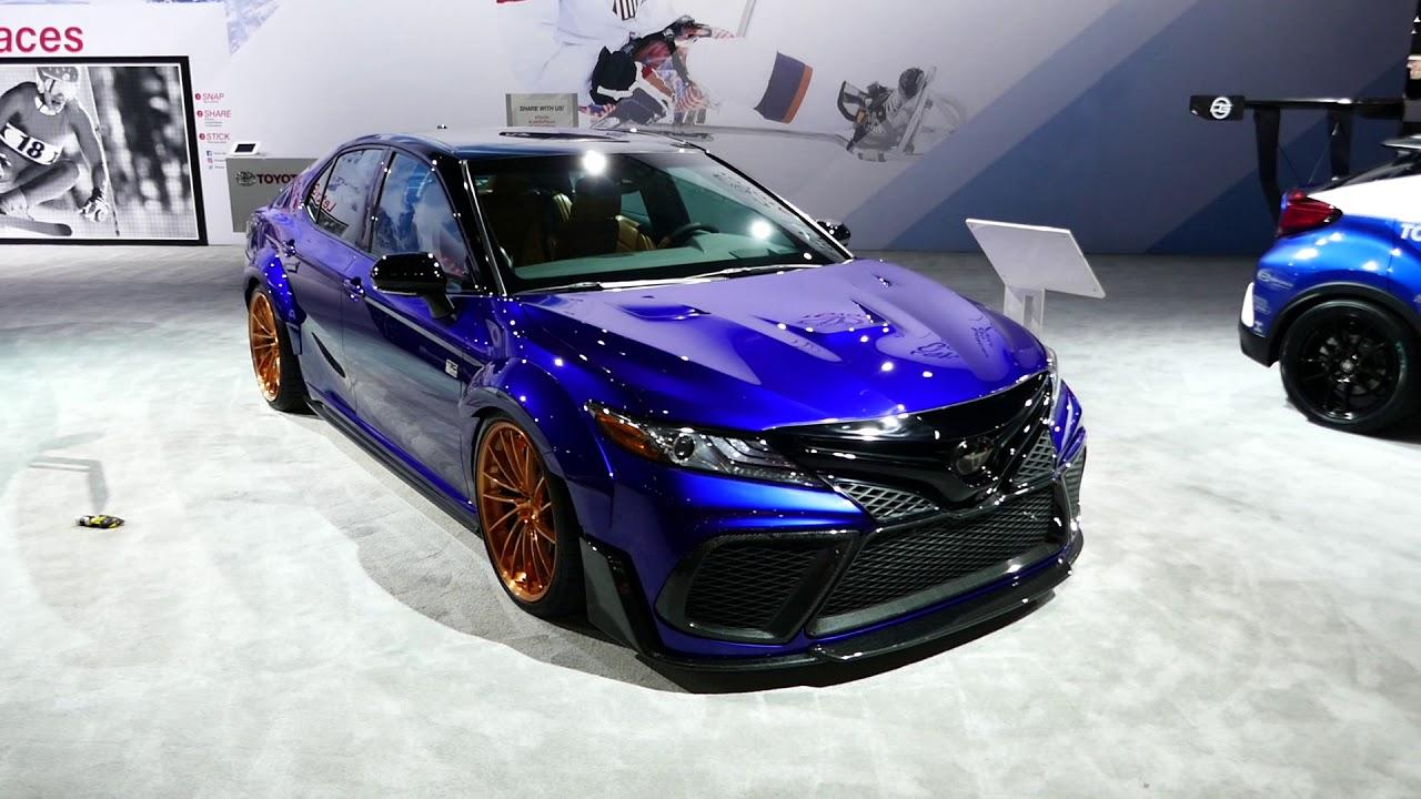 New 2018 Custom Toyota Camry Xse Sedan Exterior Tour