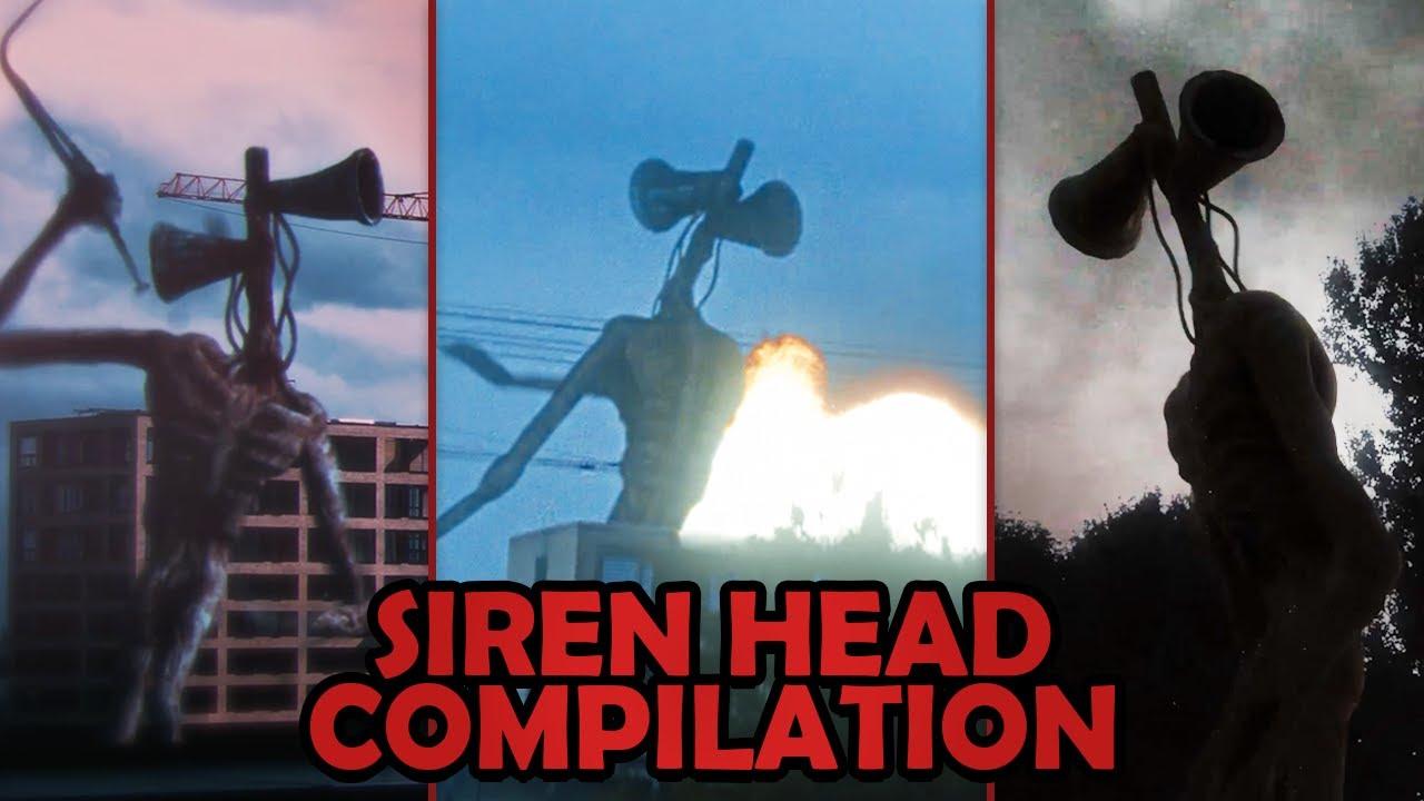 Download Siren Head Caught on CAMERA! | Siren Head Compilation