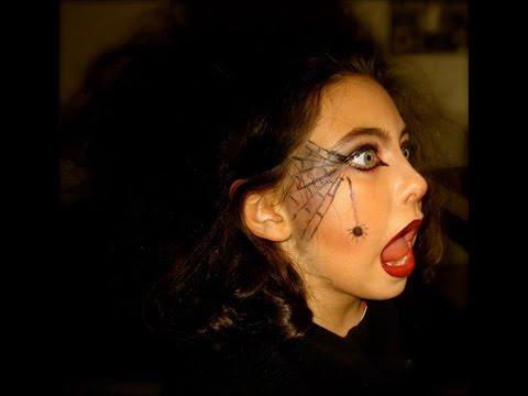 Maquillaje De Bruja Makeup Maquillaje Infantil Witch Makeup Youtube - Maquillaje-infantil-de-bruja