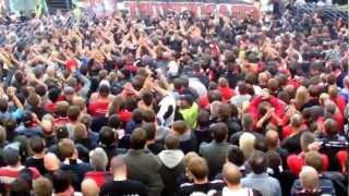 Ultras Eintracht Frankfurt-zu spät die hesse komme part 11 megastimmung