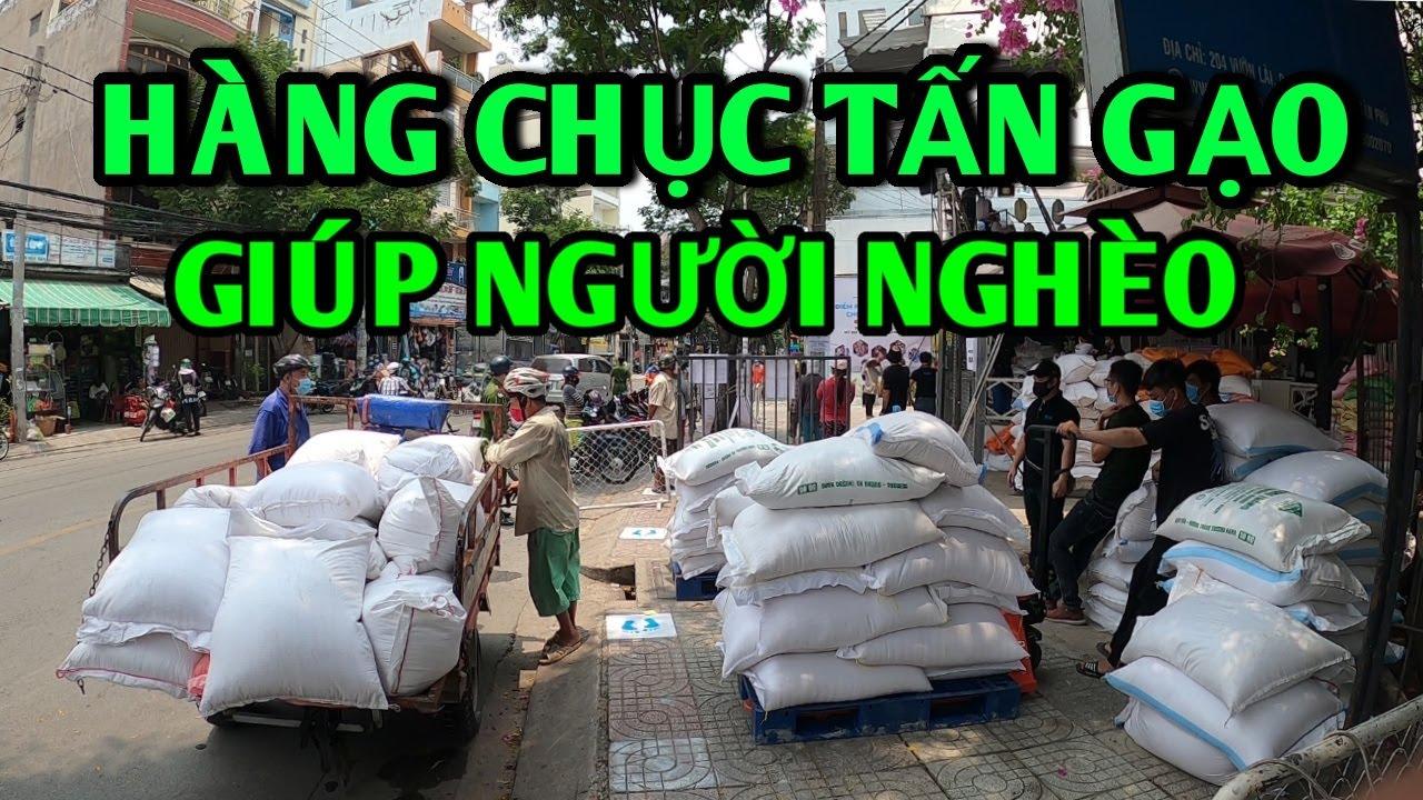 ATM Gạo Người Sài Gòn nói ít làm nhiều chở hàng chục tấn gạo đến cho