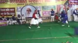 First International Gatka Competition at Gurduara Yadgar Sahib jarg 06.mp4