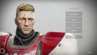 Destiny 2 Character Creation Human Youtube