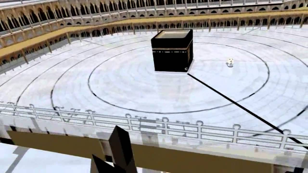 Kaba in 3D - Tour of Masjid Al Haram