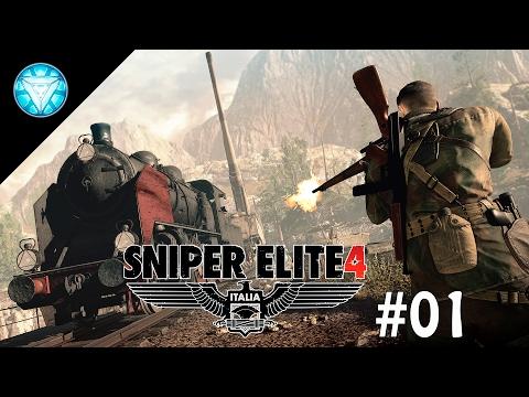 Sniper Elite 4 INDONESIA - 1st Mission & Impression !!!!