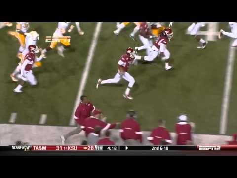 Joe Adams Punt Return Against Tennessee