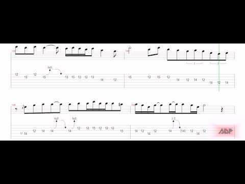 Iron Maiden Tabs - Blood Brothers