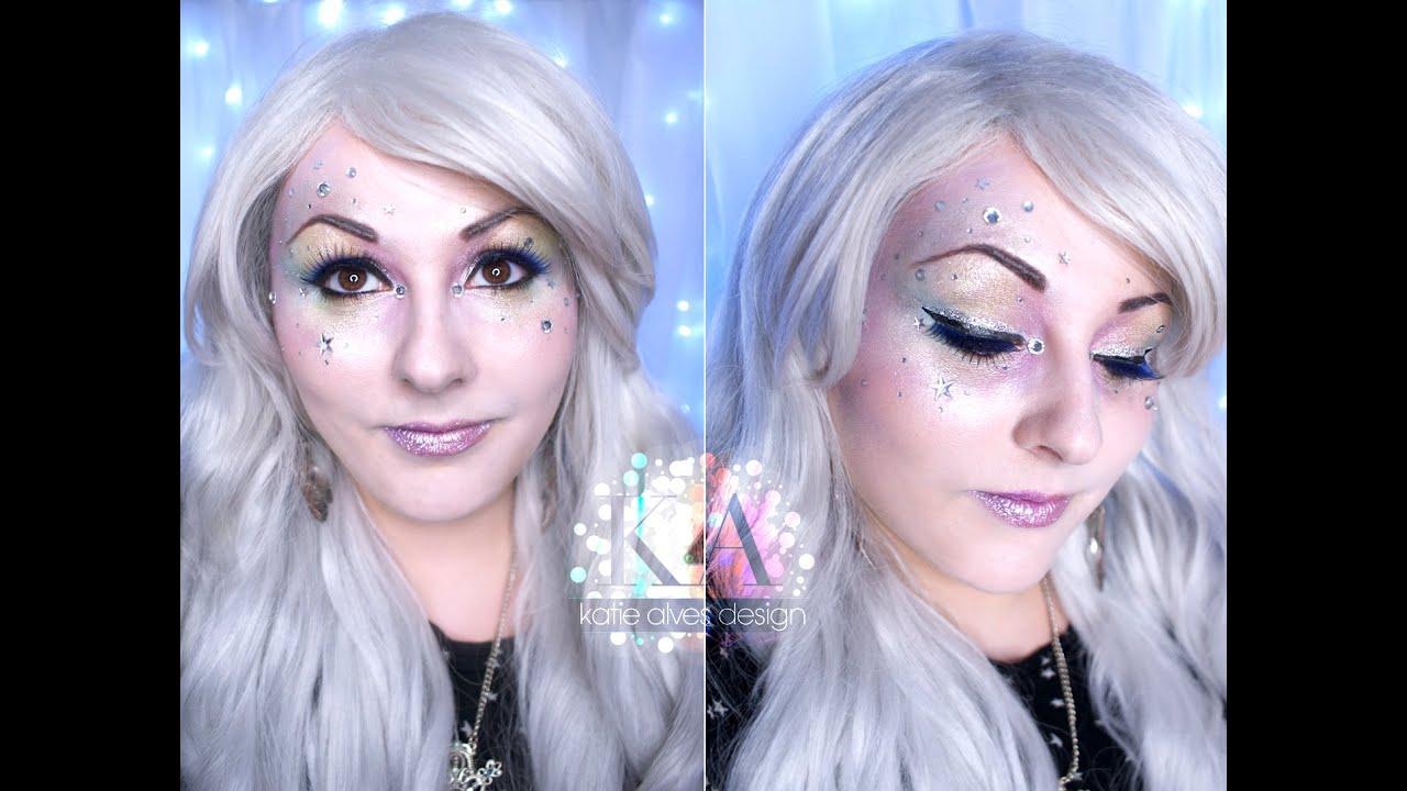 angel halloween makeup tutorial - youtube