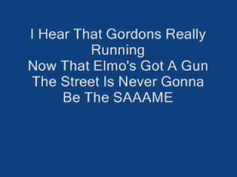 Elmo's Got A Gun With Lyrics