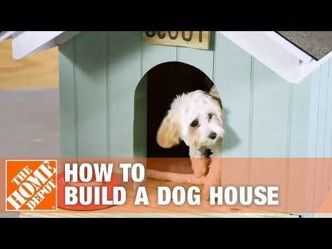 How to Build a DIY Dog House | The Home Depot