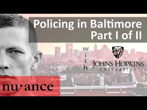 Johns Hopkins Discussion on Policing w/ Police Management Expert Michael A. Wood Jr.