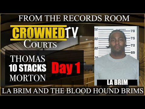 "Full Testimony of Thomas ""10 Thousand"" Morton in La Brim case"