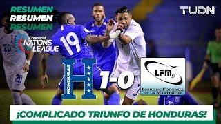 Resumen y gol  |  Honduras 1 0 Martinica  |  CONCACAF Nations League |  TUDN