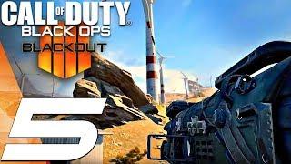 Call of Duty Black Ops 4 - BLACKOUT Gameplay Walkthrough Part 5 - Battle Royale Asylum (Full Game)