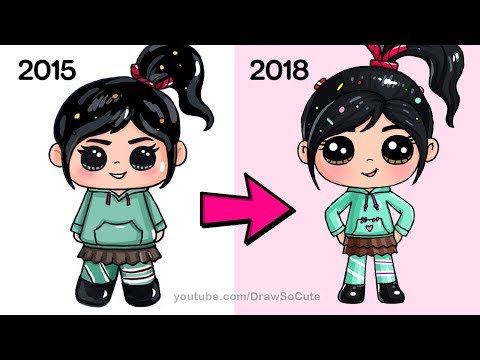How to Draw Vanellope NEW | Ralph Breaks the Internet