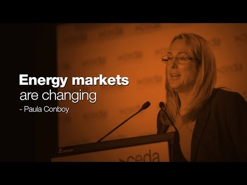 Energy markets are changing - Paula Conboy