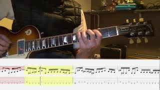 Shaka Ponk - How to play - Gung Ho - Main Riff with tabs