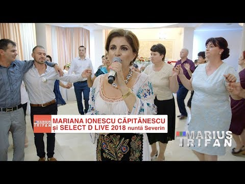 Mariana Ionescu Capitanescu si Formatia Select D LIVE nunta Severin - Colaj de Hore si Sarbe