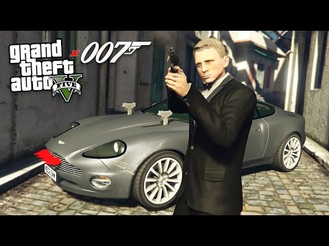 "GTA 5 Mods - JAMES BOND ""007"" MOD!! GTA 5 James Bond Mod Gameplay! (GTA 5 Mods Gameplay)"