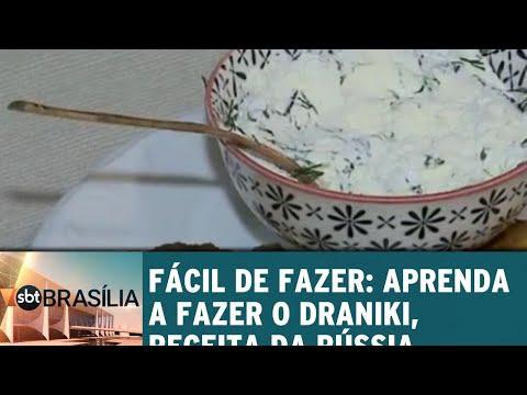 Fácil de fazer: aprenda a fazer o Draniki, receita da Rússia | SBT Brasília 21/06/2018