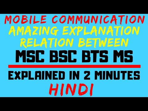 Relation Between MSC (Mobile Switching Center) BSC(Base Station Controller) BTS(Base Station) And MS