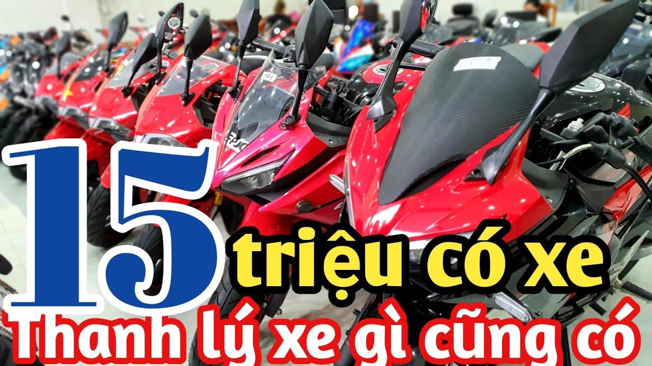 Trực Tiếp Thanh Lý Moto R15v3,gsx Bandit,cbr Giảm Mạnh 2,9tr