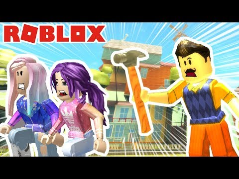Roblox: Hello Neighbor / Sneaking Into The Neighbor's House! 🏠