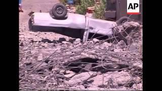 WRAP Shelling, bridge damage, Hezbollah claim, Beirut celebration