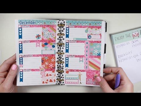Mini Happy Planner Plan With Me!