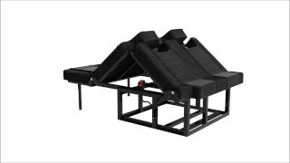 Rnr Beds - 3d Demonstration Of Our Rock & Roll Seat Bed