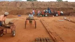 Brick making machine 2019