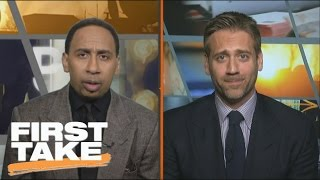 Will The Spurs Overtake The Warriors' No. 1 Spot In The West? | First Take | March 9, 2017