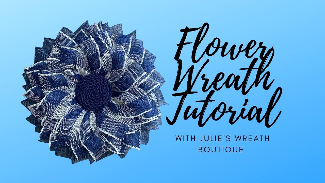 How to Make a Wreath | Beginner Wreath Tutorial | Flower Wreath DIY | New Wreath Frame | DIY Wreath