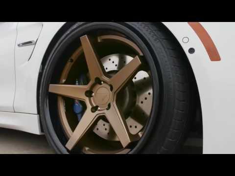 BMW M4 vs Audi RS5 - Ferrada Wheels