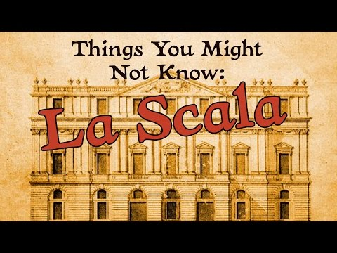 World Famous Opera House - La Scala