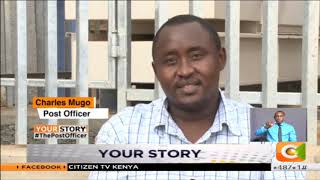 | YOUR STORY | Charles Mugo - Double amputee working as a postal officer